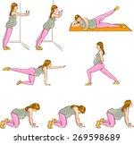 pregnant  exercises sets
