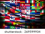 big flag background made of... | Shutterstock .eps vector #269599934