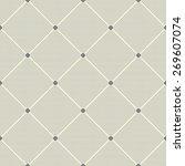 abstract seamless diagonal... | Shutterstock .eps vector #269607074