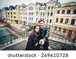 outdoor lifestyle portrait of... | Shutterstock . vector #269610728