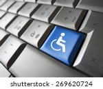 web content accessibility... | Shutterstock . vector #269620724