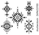 vector tribal elements  ethnic... | Shutterstock .eps vector #269621930