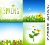 spring nature backgrounds with... | Shutterstock .eps vector #269630780