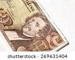 Small photo of Twenty shilling bill of Austria, Carl Ritter