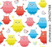 owl.vector  | Shutterstock .eps vector #269637488