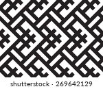 vector seamless pattern ... | Shutterstock .eps vector #269642129