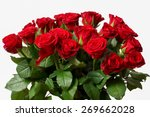 Stock photo isolated flowers red roses 269662028