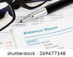 balance sheet in stockholder...   Shutterstock . vector #269677148