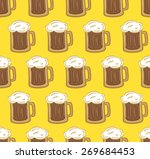 glass of beer pattern | Shutterstock .eps vector #269684453
