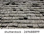 Old Traditional Wooden Roof