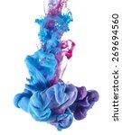 Color Drop Underwater Creating...