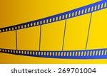 Illustration Of The Film Strip...