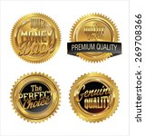 premium quality retro labels... | Shutterstock .eps vector #269708366