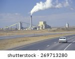 Small photo of America's largest air-cooled steam-electric power plant in Wyodak, Wyoming