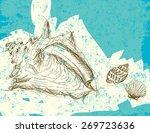 seashells | Shutterstock .eps vector #269723636