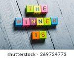 winner  the  leader. | Shutterstock . vector #269724773