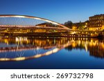 A View Of A Vistula River In...
