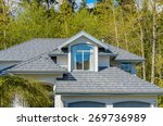 the roof of the house with nice ... | Shutterstock . vector #269736989