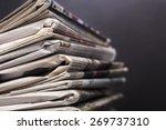 journalism  journal  media. | Shutterstock . vector #269737310