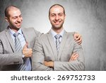 smiling businessman... | Shutterstock . vector #269752733