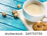 shop  espresso  aroma. | Shutterstock . vector #269753750