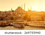 istanbul on a sunny day  turkey.... | Shutterstock . vector #269755940