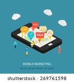 3d mobile digital marketing...