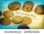 interest rates rise | Shutterstock . vector #269825636
