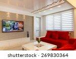 modern living room interior... | Shutterstock . vector #269830364