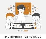 teamwork infographics... | Shutterstock .eps vector #269840780