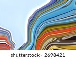 cutting through the current | Shutterstock . vector #2698421