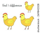 find differences kids layout... | Shutterstock .eps vector #269842328