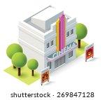 vector isometric icon... | Shutterstock .eps vector #269847128
