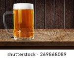 beer glass  beer  glass. | Shutterstock . vector #269868089