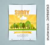 stylish template  banner or... | Shutterstock .eps vector #269868563