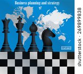 business planning and strategy. ... | Shutterstock .eps vector #269899838
