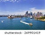 australian major landmarks in... | Shutterstock . vector #269901419