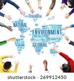 environment ecology...   Shutterstock . vector #269912450