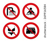 No  Ban Or Stop Signs. Swimmin...