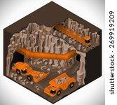 vector isometric illustration... | Shutterstock .eps vector #269919209