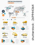 construction infographics.... | Shutterstock . vector #269944364