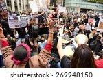 new york city   april 14 2015 ... | Shutterstock . vector #269948150