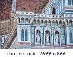 detail of cathedral santa maria ...