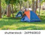 Dome Tents Camping At Bang...