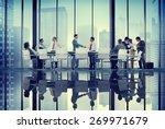 diversity business people...   Shutterstock . vector #269971679