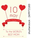 mother's day flyer  brochure ... | Shutterstock .eps vector #269972183