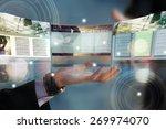 web site design concept | Shutterstock . vector #269974070