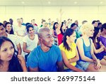 diversity teenager team seminar ... | Shutterstock . vector #269975144