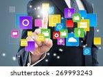 apps  network  net. | Shutterstock . vector #269993243