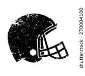 american football helmet in... | Shutterstock .eps vector #270004100